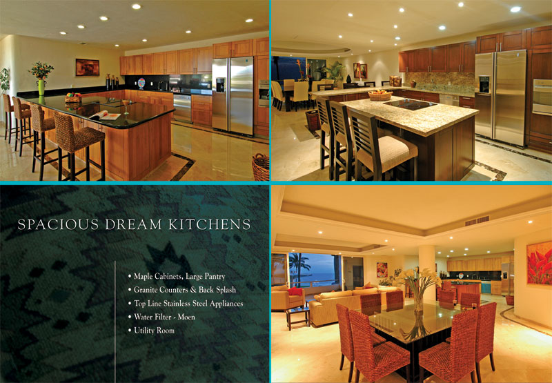 Spacious Dream Kitchens